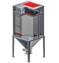 Étouffement d'explosion sur les installations de filtration Herding résistantes aux chocs de pression dûs aux explosions