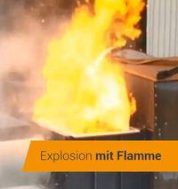 Décharge de la pression d'explosion sur les installations de filtration Herding résistantes aux chocs de pression dûs aux explosions